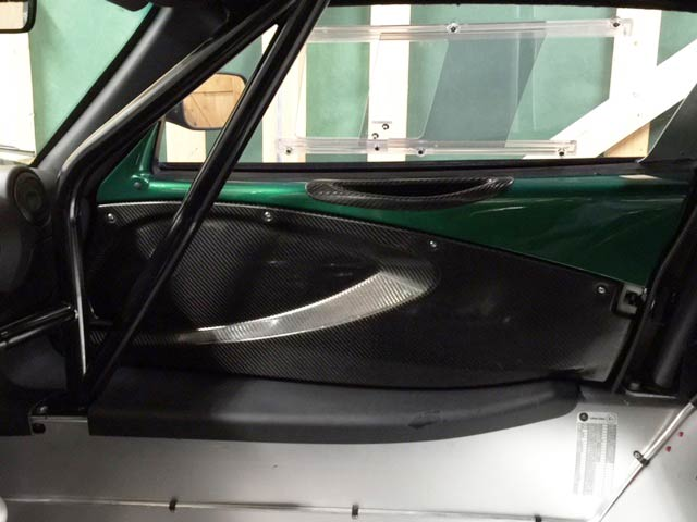 Exige V6 Door Cards and Handles