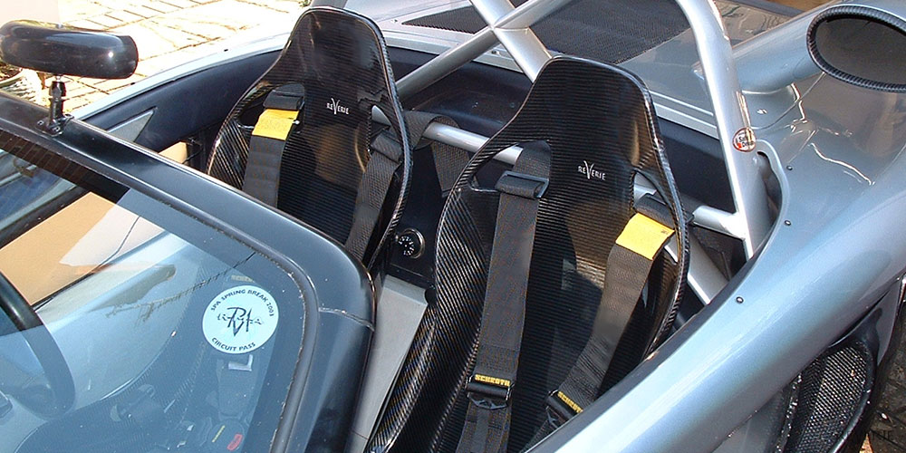 Carbon Fibre Seats - Bucket Seats | Reverie Ltd