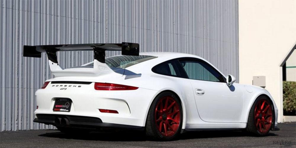 Porsche 911 Carbon Fibre Rear Wings Spoilers Bumper Canards