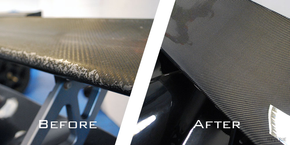 Carbon fibre repairs :: Reverie