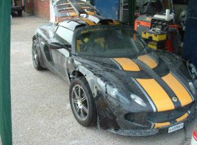 Lotus Exige S2 [Side Scoop Induction]