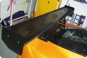 Exige S3 V6 310mm Chord High Down-Force Wing Kit