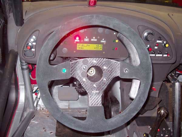 Fitted to Mitsubish WRC Rally Car 2006