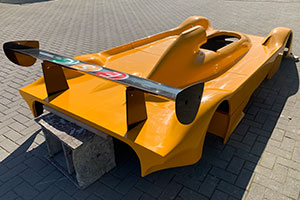 310mm rear wing on a prototype