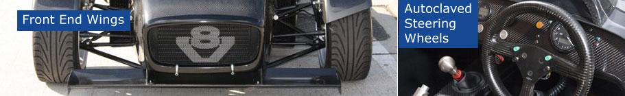 Single Element Carbon Fibre Rear Wings | Reverie Ltd